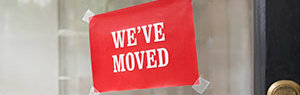 We've moved - sign in business window