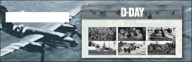 D-Day stamps