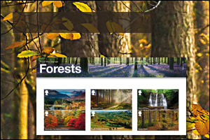 Forests special stamps