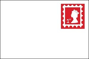 Royal Mail 1st Class stamp