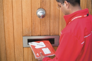 Postman with redirected mail